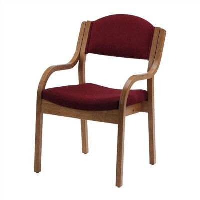Virco Wood Stack Guest Chair