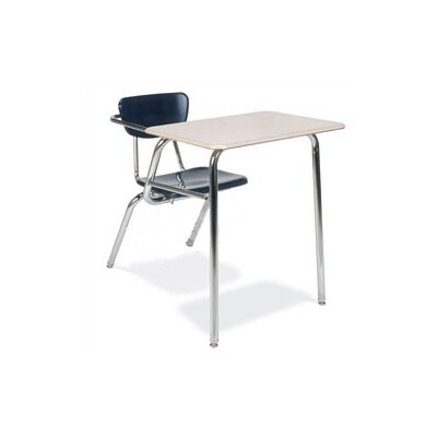 "Virco 3000 Series 29"" Laminate Combo Chair Desk with Particleboard"