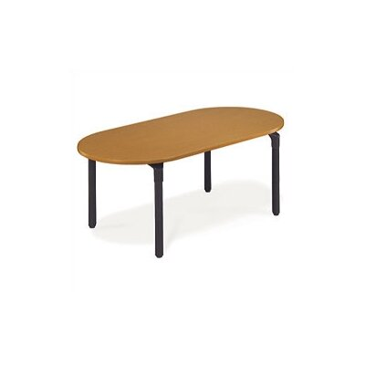 Virco Plateau Series 6' Oval Conference Table