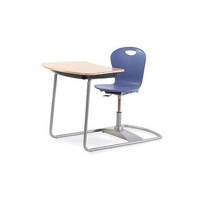Virco Zuma Series Ergo Plastic Student Combo Chair Desk