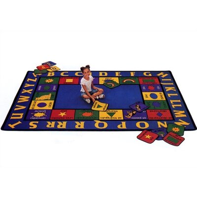 Virco Children's Bilinqual Area Rug