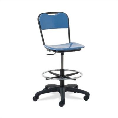height adjustable lab stool with casters wayfair. Black Bedroom Furniture Sets. Home Design Ideas