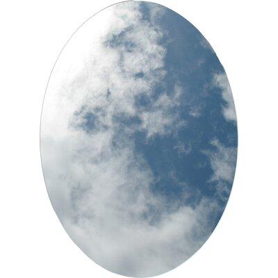 "Frameless Beveled 21.25"" x 31.25"" Oval Medicine Cabinet Product Photo"