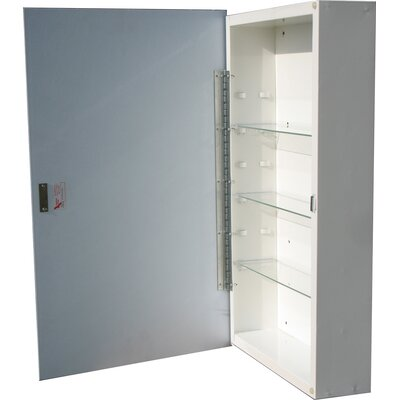 "Raised Panel 16"" x 26"" Surface Mount Medicine Cabinet Product Photo"