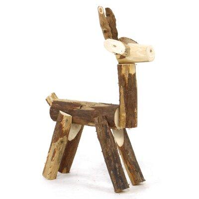 Appalachian Lodge Wood Tabletop Deer by Sage & Co.