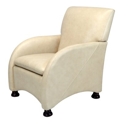 Lorenzo Leather Armchair by Opulence Home