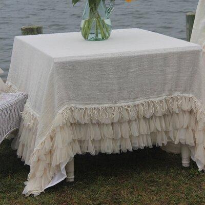 Couture Dreams Chichi Square Linen Tablecloth