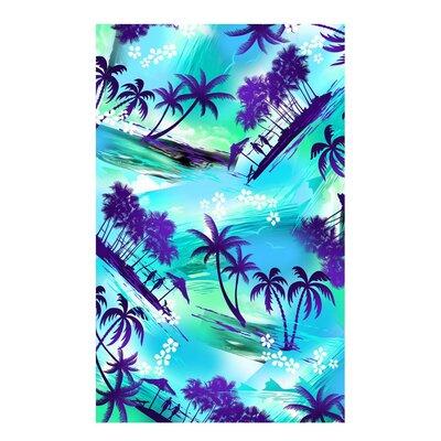 Kaufman Sales Tropical Island Beach Towel