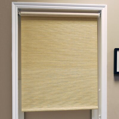Lattice Natural Woven Roller Blind Product Photo