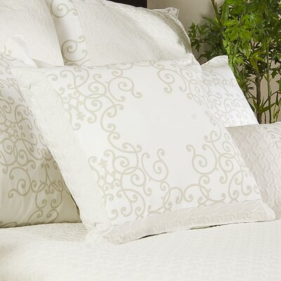 Aria Linen Throw Pillow by Charister