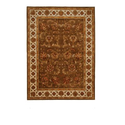 Liberty Oriental Rugs Tempest Brown/Yellow Area Rug