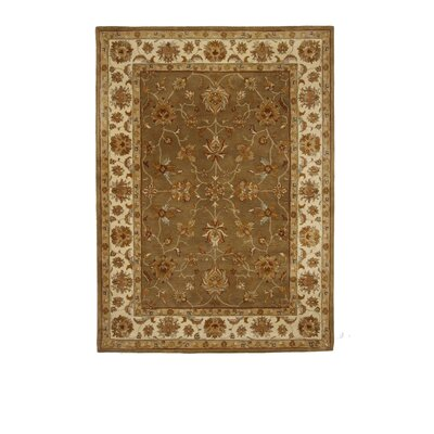 Liberty Oriental Rugs Tempest Medium Green/Ivory Area Rug