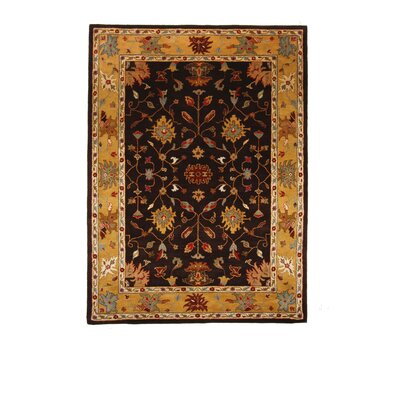 Liberty Oriental Rugs Tempest Cola/Light Gold Area Rug