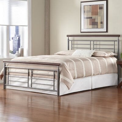 Fontane Metal Panel Bed by Fashion Bed Group