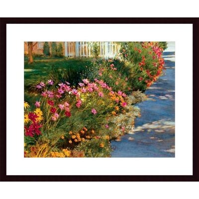 Printfinders Let The Sunshine In by Phyllis Horne Framed Painting Print