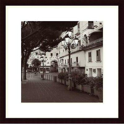 Printfinders 'Strada, Amalfi' by Alan Blaustein Framed Photographic Print