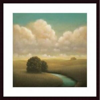 'Yesterday's Spring' by Donna McGinnis Framed Painting Print by Printfinders