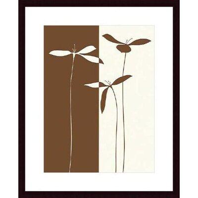 Printfinders 'Petals I' by Studio Voltaire Framed Graphic Art