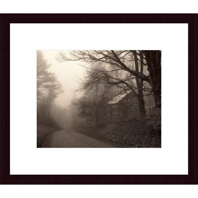 Printfinders 'Parish Hill Road' by Christine Triebert Framed Photographic Print