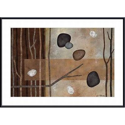 Printfinders Sticks and Stones IV by Glenys Porter Framed Painting Print