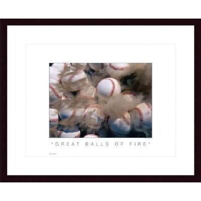 Printfinders Great Balls of Fire by Don Marquess Framed Photographic Print