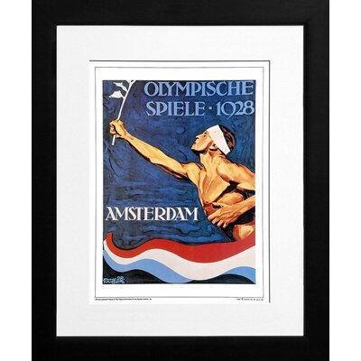 Printfinders Amsterdam 1928 Framed Graphic Art