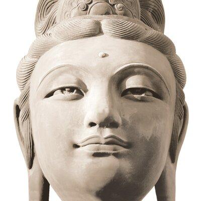 Platin Art Deco Glass Buddha 2 Piece Photographic Print Set