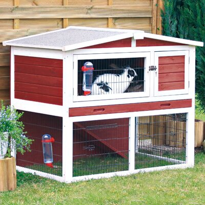 Trixie Pet Products Red Small Animal Hutch