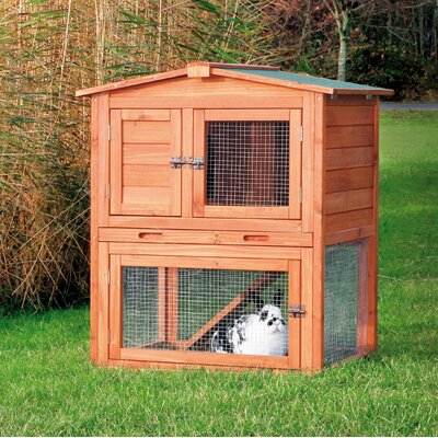 Trixie Pet Products Brown Small Animal Hutch
