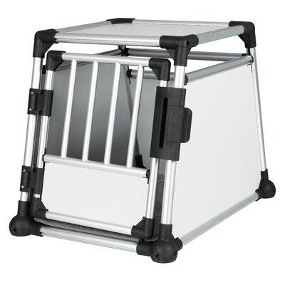 Trixie Pet Products Scratch-Resistant Metallic Pet Crate