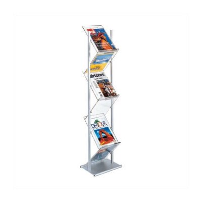 Peter Pepper 6 Pocket Magazine Rack