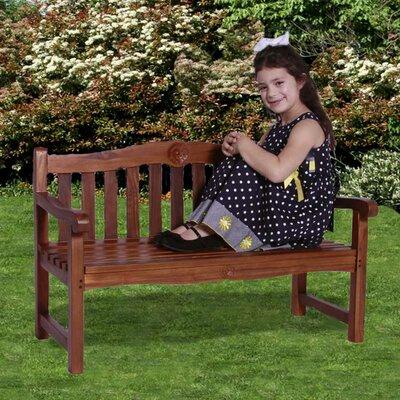 Classic Kid's Rose Garden Bench by JazTy