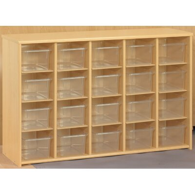 TotMate Eco  Preschool 20 Compartment Cubby