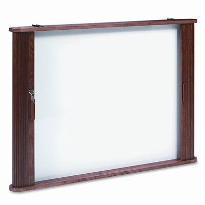 Balt Best-Rite® Tambour Door Enclose Wall Mounted Whiteboard, 3' x 4'