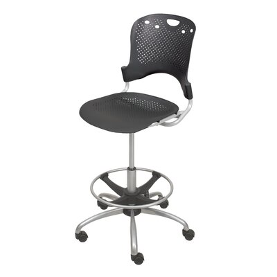 Balt Height Adjustable Circulation Drafting Chair With Casters Reviews