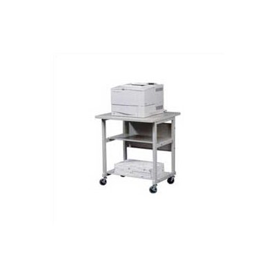 Balt Heavy-Duty Mobile Printer Stand with 2 Shelves
