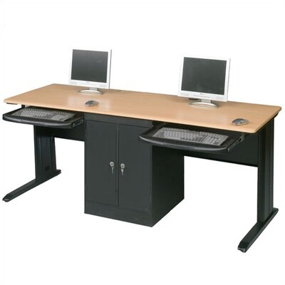 Balt LX Computer Workstation with Locking CPU Holder