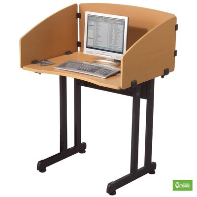 Balt Economical Laminate Study Carrel Desk