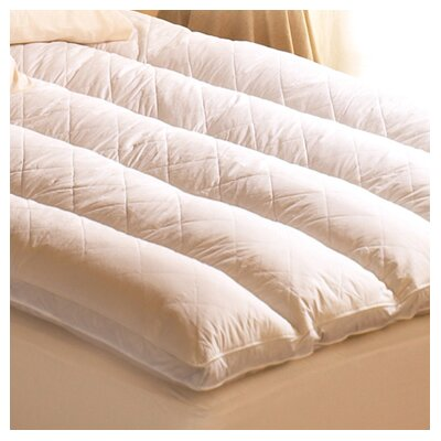 Pacific Coast Feather Euro Rest 100% Cotton Feather Bed