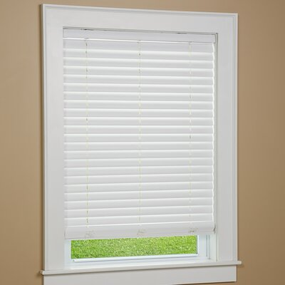 One Touch Cordless Faux Wood Venetian Blind Product Photo