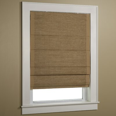 Hampton Woven Cane Paper Roman Shade Product Photo