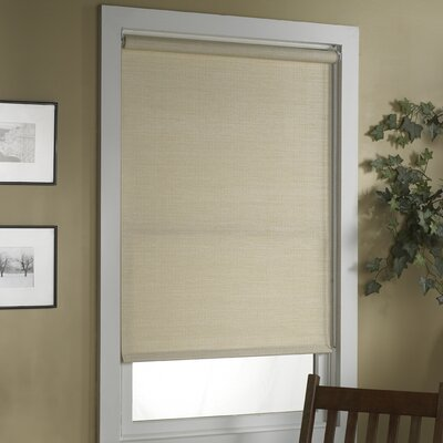 Deluxe Woven Cane Paper Roller Shade Product Photo