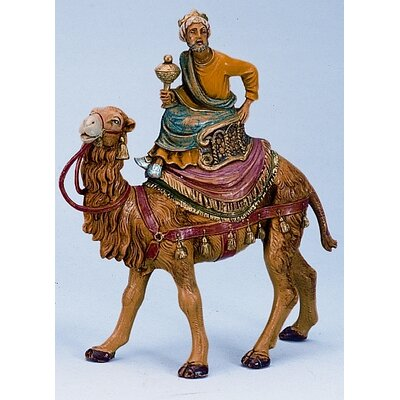 """Fontanini 5"""" Scale Kings on Camels Figurines"""