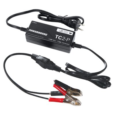 TC2-P Plug-In Trickle Charger for Electric Generators by Powerhouse