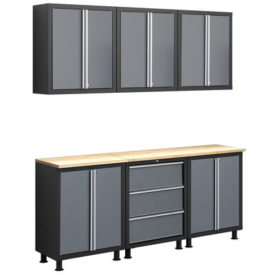 NewAge Products Bold Series 8-Piece Cabinet Set
