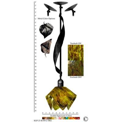 Jezebel Gallery Signature 1 Light Sweetgrass Pendant