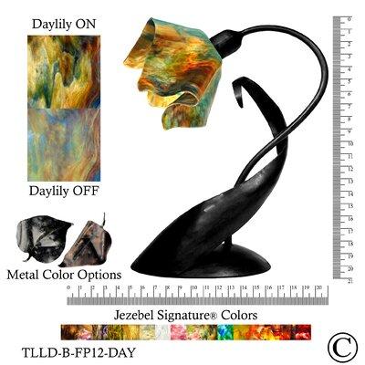 "Jezebel Gallery Signature Lazy Daisy 20"" H Table Lamp with Novelty Shade"