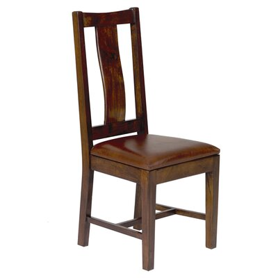 Saddler Wood Back Side Chair by William Sheppee