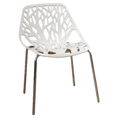 Wholesale Interiors Baxton Studio Birch Sapling Dining Chair in White