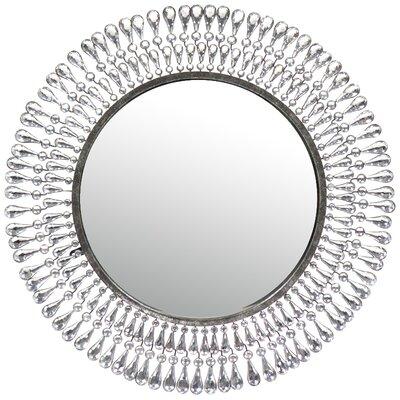 Metal Wall Mirror by Entrada